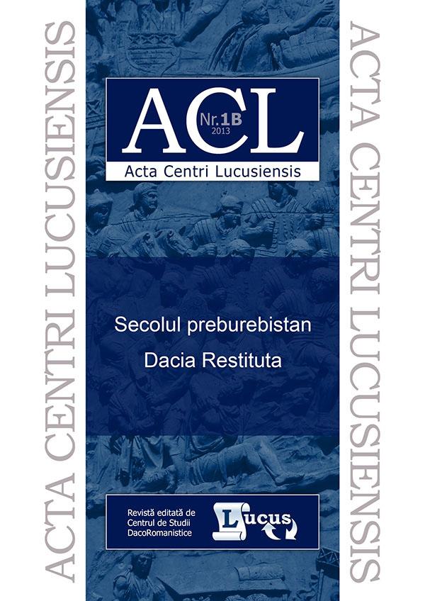 ACL nr. 1B/2013
