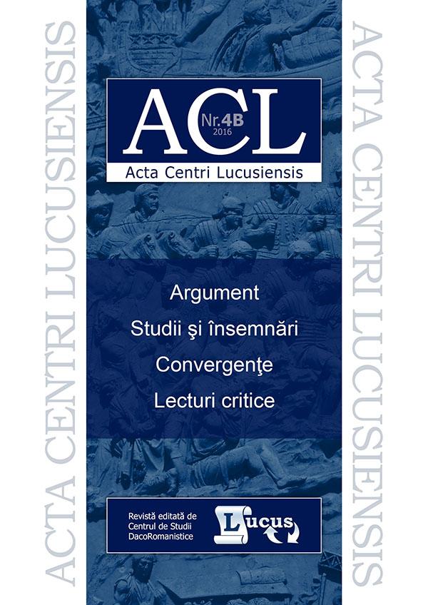 ACL nr. 4B/2016